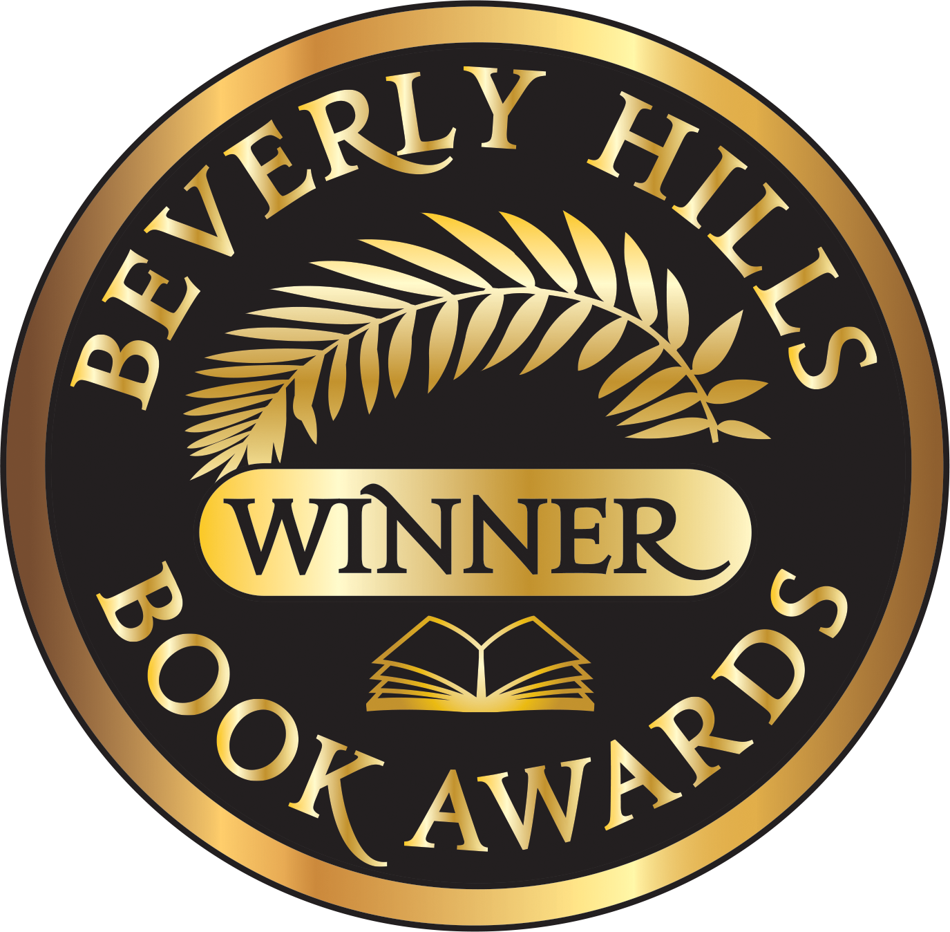 The Beverly Hill Book Award Winner Seal